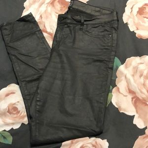 Gap charcoal color skinny jeans